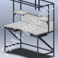 Work desk for factory