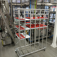 Mobile tooling rack