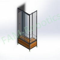 Product Sample Rack